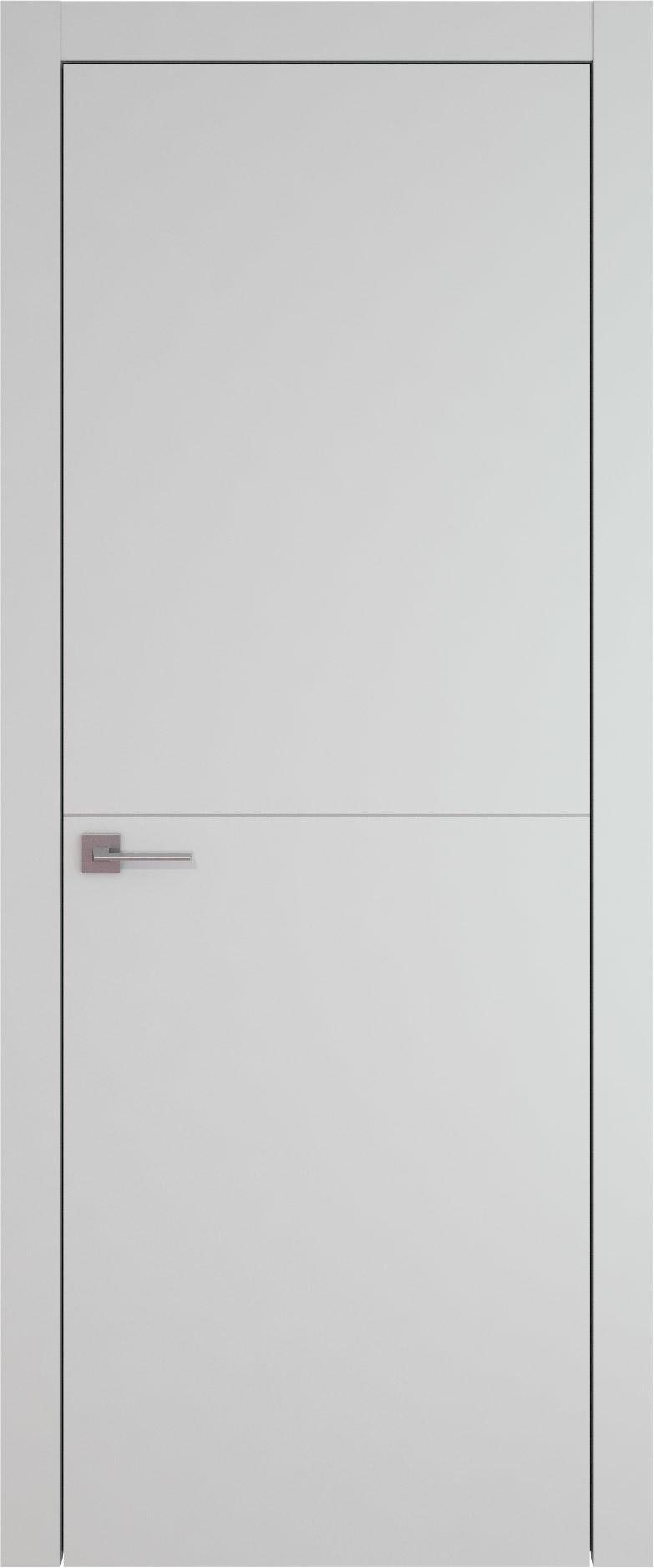 Tivoli Б-3 цвет - Серая эмаль (RAL 7047) Без стекла (ДГ)
