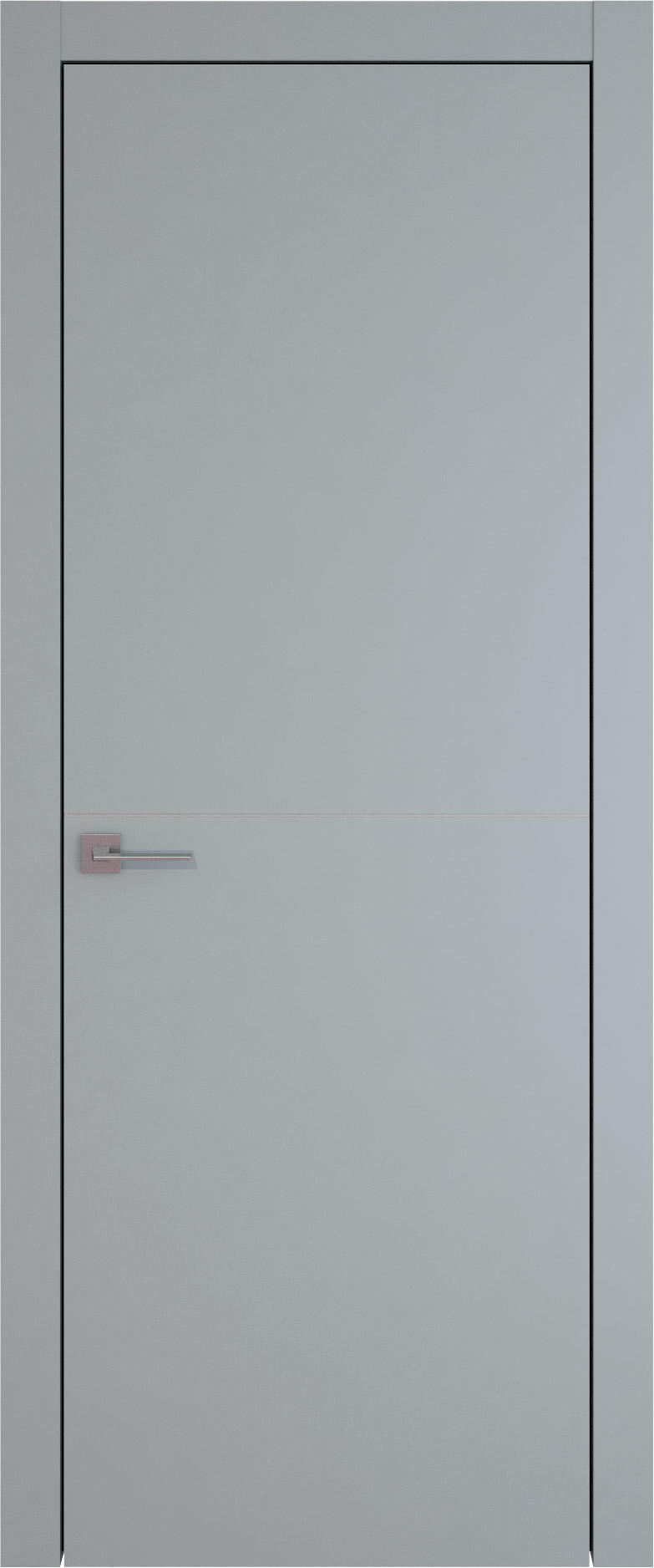Tivoli Б-3 цвет - Серебристо-серая эмаль (RAL 7045) Без стекла (ДГ)