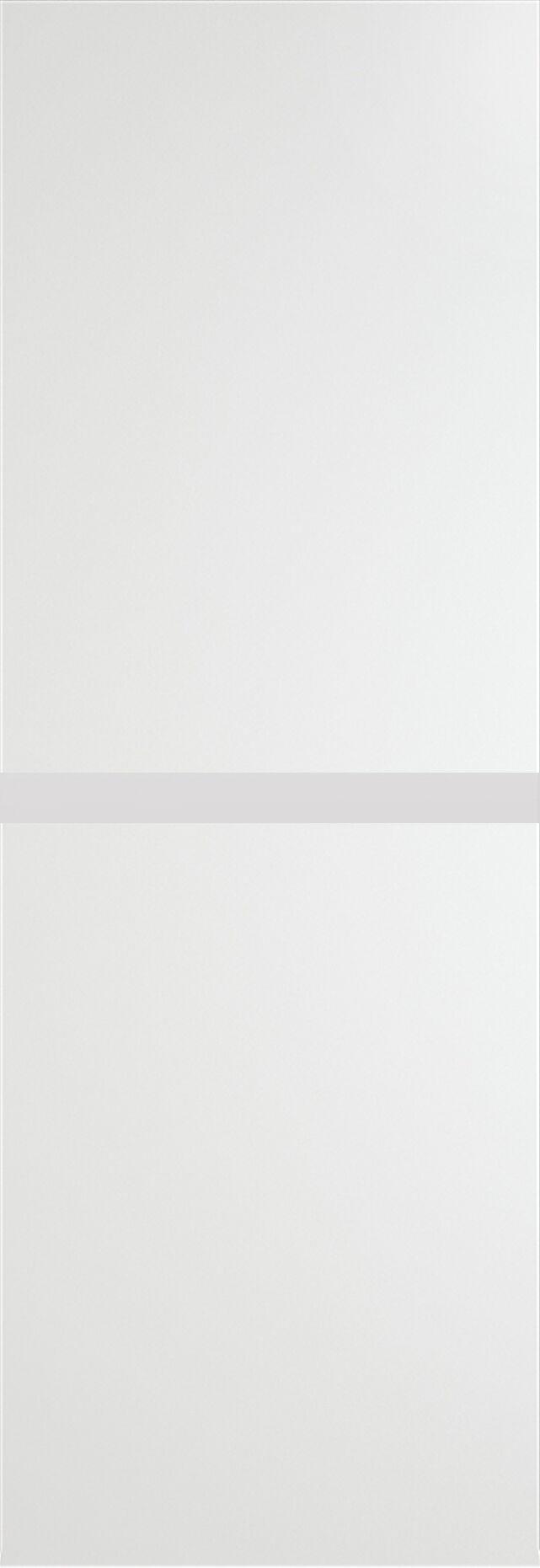 Tivoli Б-4 Invisible цвет - Белая эмаль Без стекла (ДГ)
