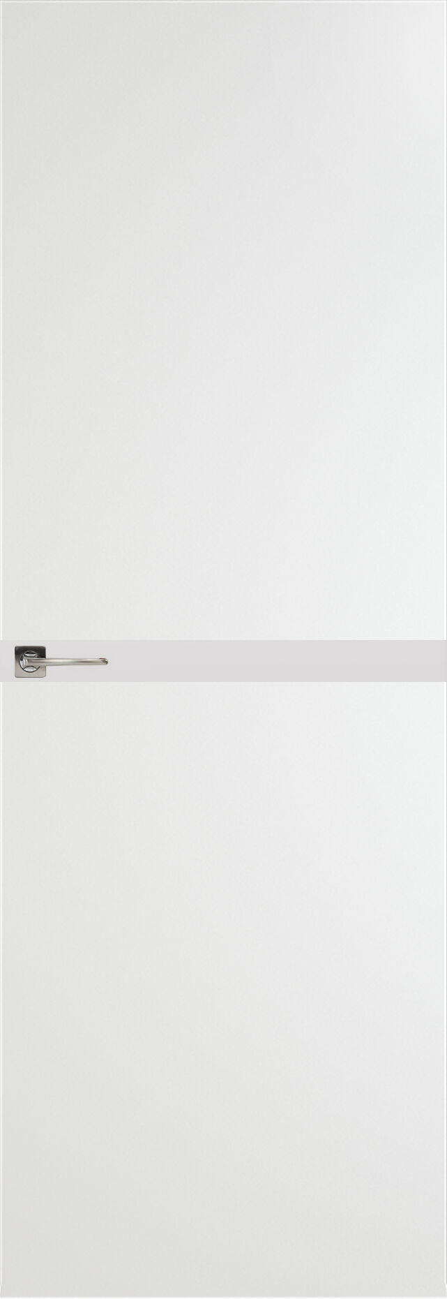 Tivoli Б-4 Невидимка цвет - Белая эмаль Без стекла (ДГ)
