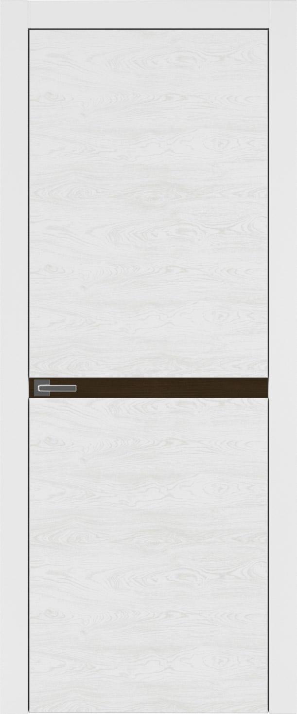 Tivoli Б-4 цвет - Белая эмаль по шпону (RAL 9003) Без стекла (ДГ)