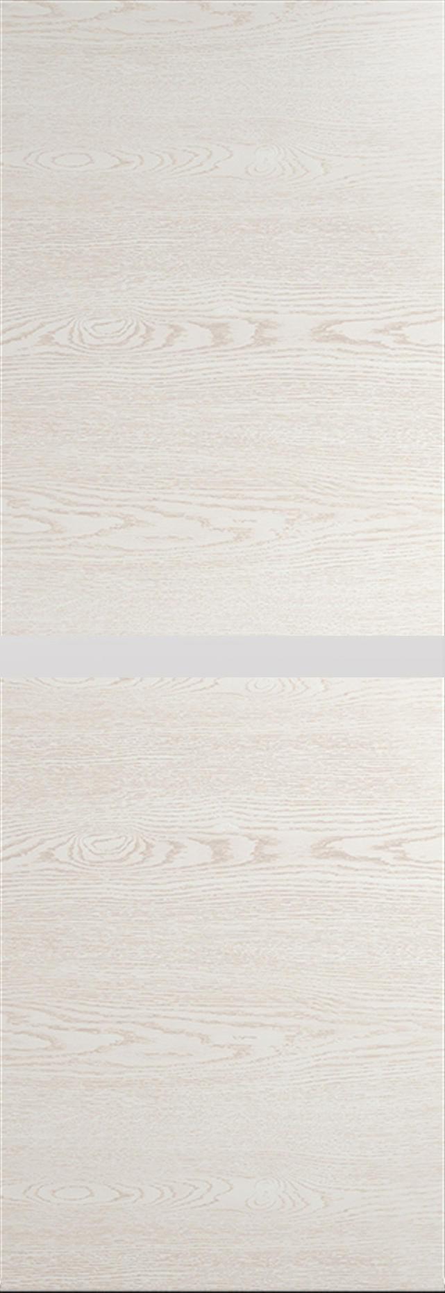 Tivoli Б-4 Invisible цвет - Белый ясень Без стекла (ДГ)