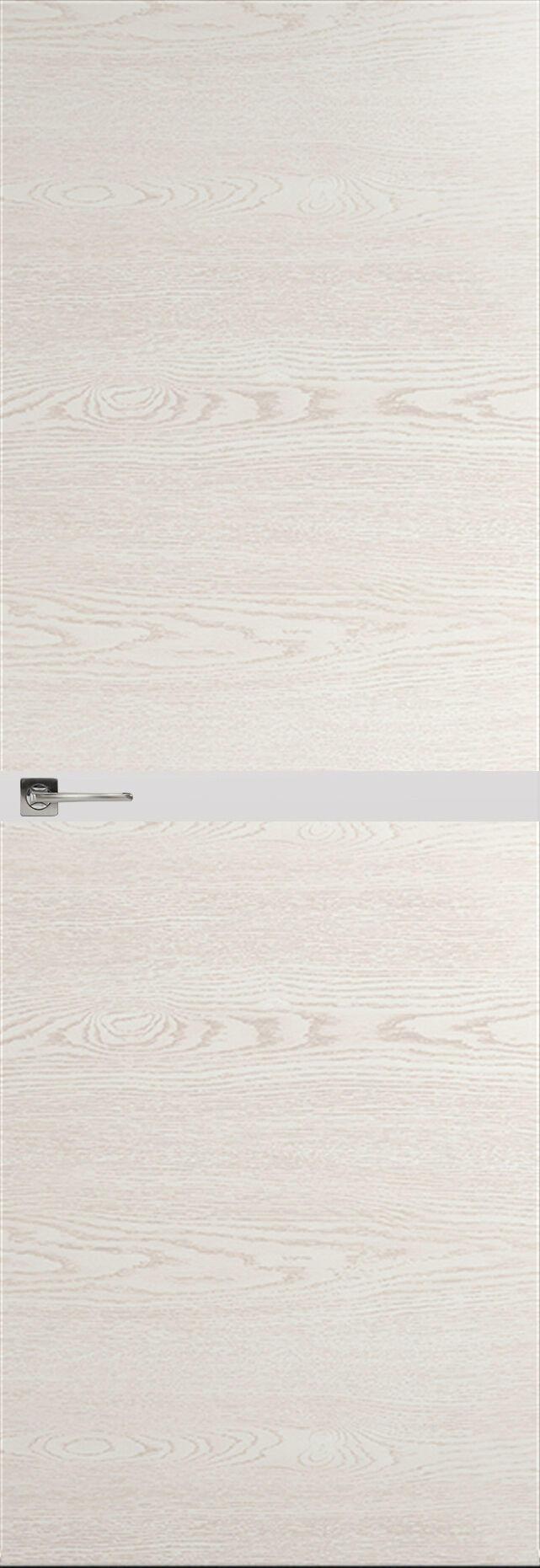 Tivoli Б-4 Невидимка цвет - Белый ясень Без стекла (ДГ)