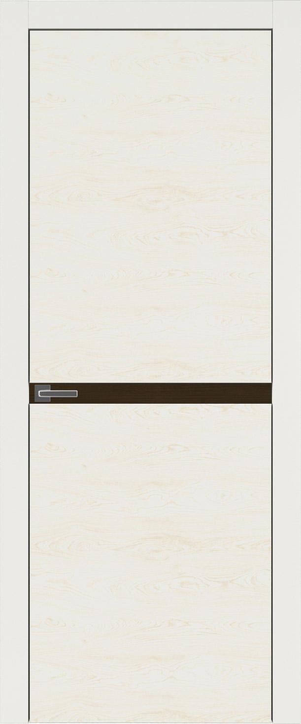 Tivoli Б-4 цвет - Бежевая эмаль по шпону (RAL 9010) Без стекла (ДГ)