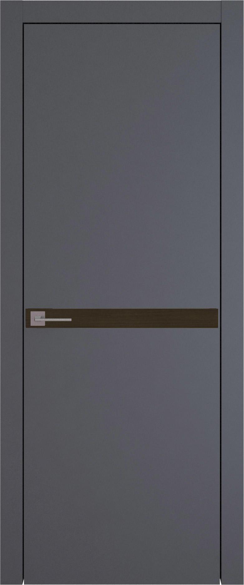 Tivoli Б-4 цвет - Графитово-серая эмаль (RAL 7024) Без стекла (ДГ)