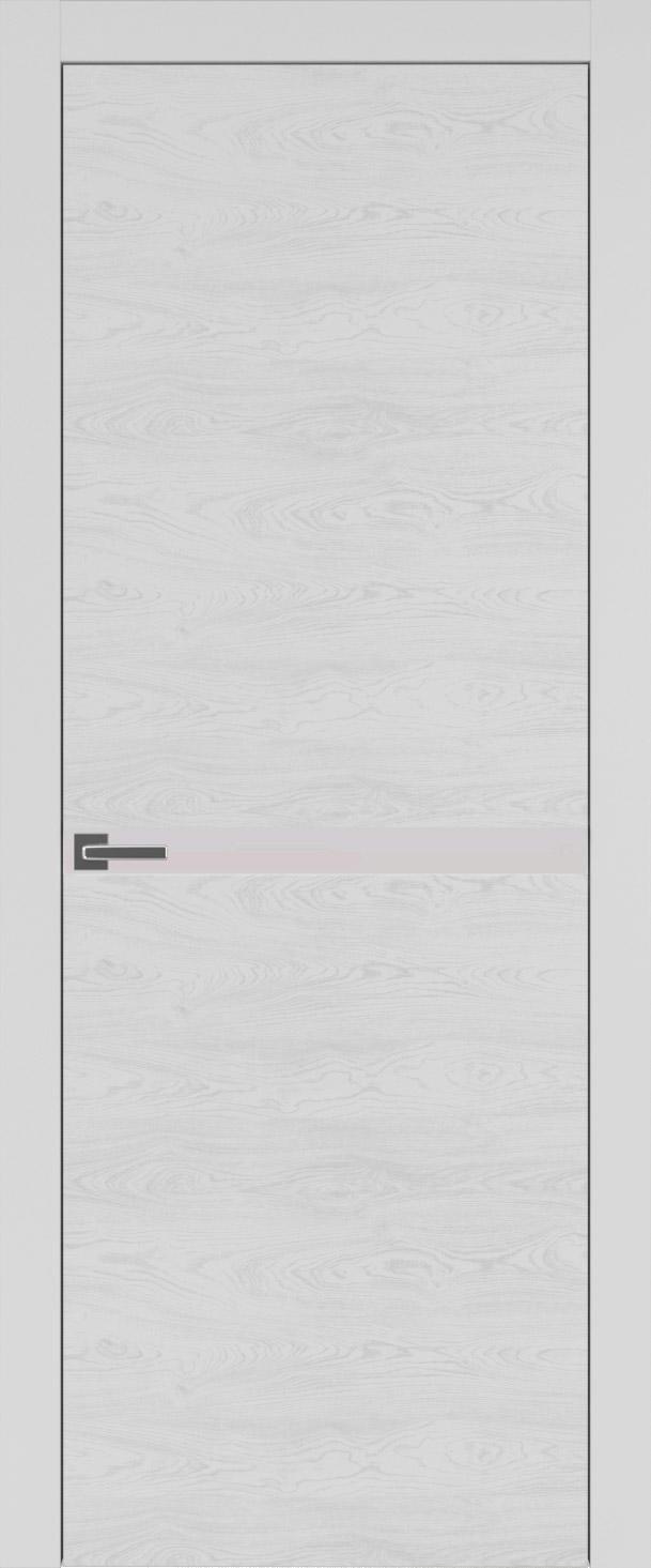 Tivoli Б-4 цвет - Серая эмаль по шпону (RAL 7047) Без стекла (ДГ)