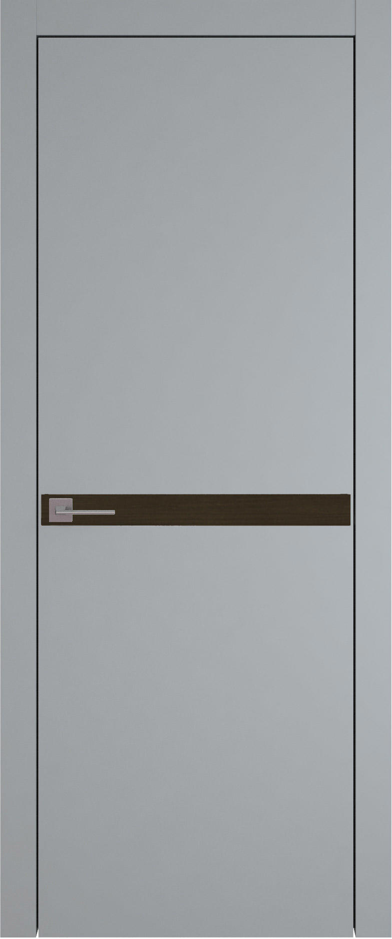 Tivoli Б-4 цвет - Серебристо-серая эмаль (RAL 7045) Без стекла (ДГ)