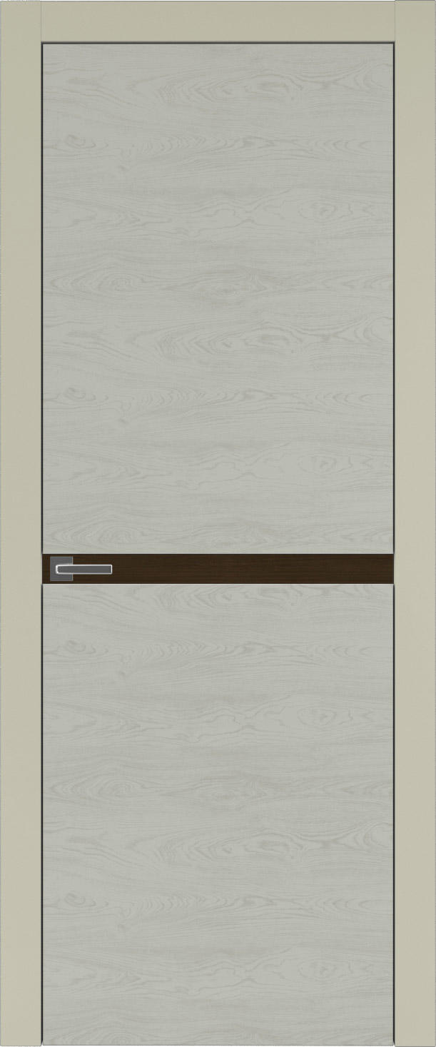 Tivoli Б-4 цвет - Серо-оливковая эмаль по шпону (RAL 7032) Без стекла (ДГ)