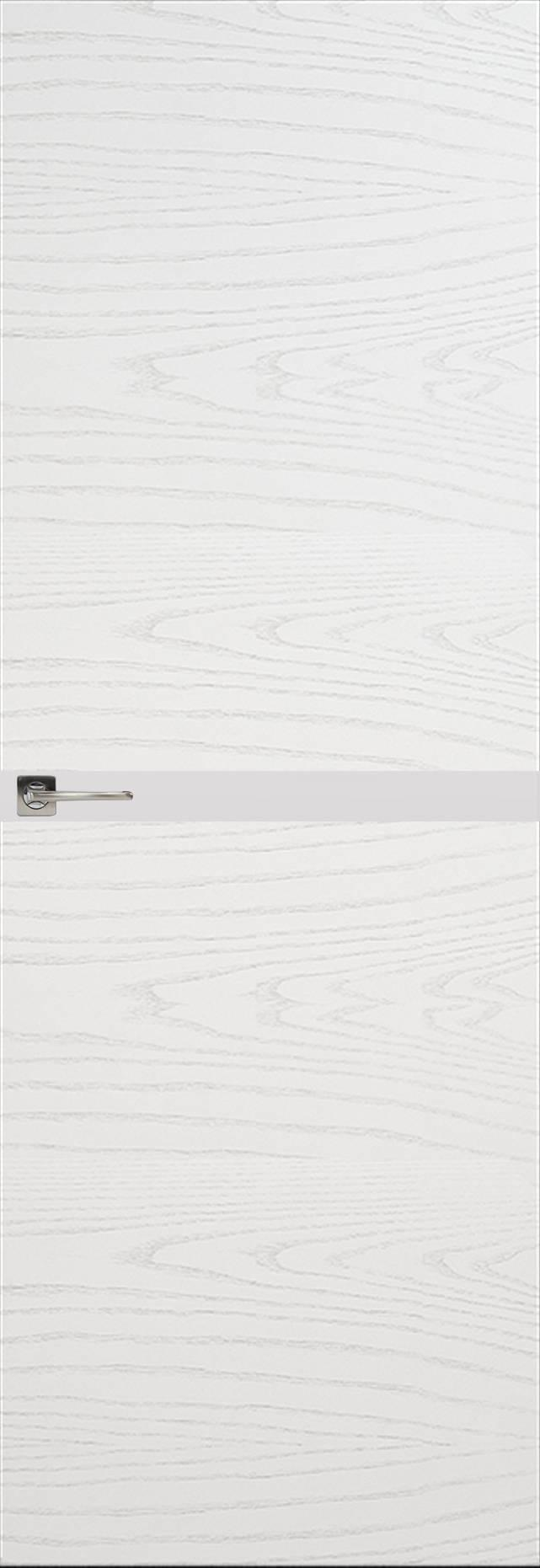 Tivoli Б-4 Невидимка цвет - Ясень белая эмаль Без стекла (ДГ)