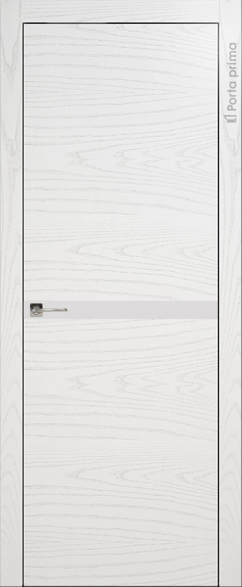 Tivoli Б-4 цвет - Белый ясень (шпон) Без стекла (ДГ)