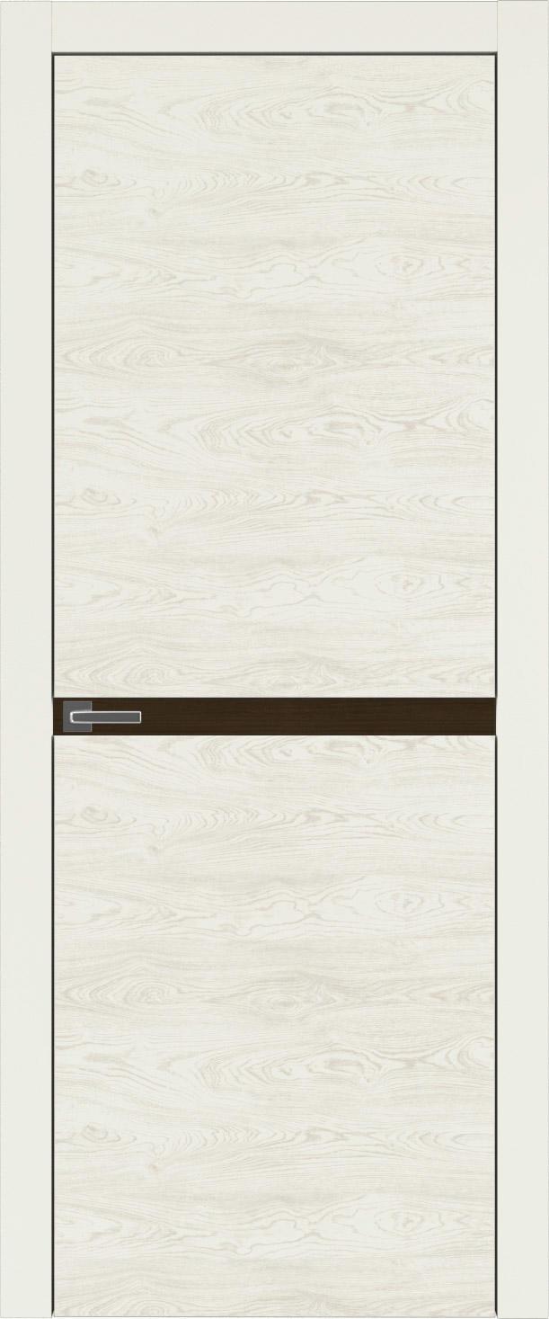 Tivoli Б-4 цвет - Жемчужная эмаль по шпону (RAL 1013) Без стекла (ДГ)