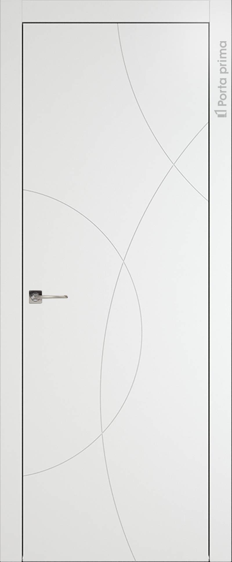 Tivoli Б-5 цвет - Белая эмаль (RAL 9003) Без стекла (ДГ)