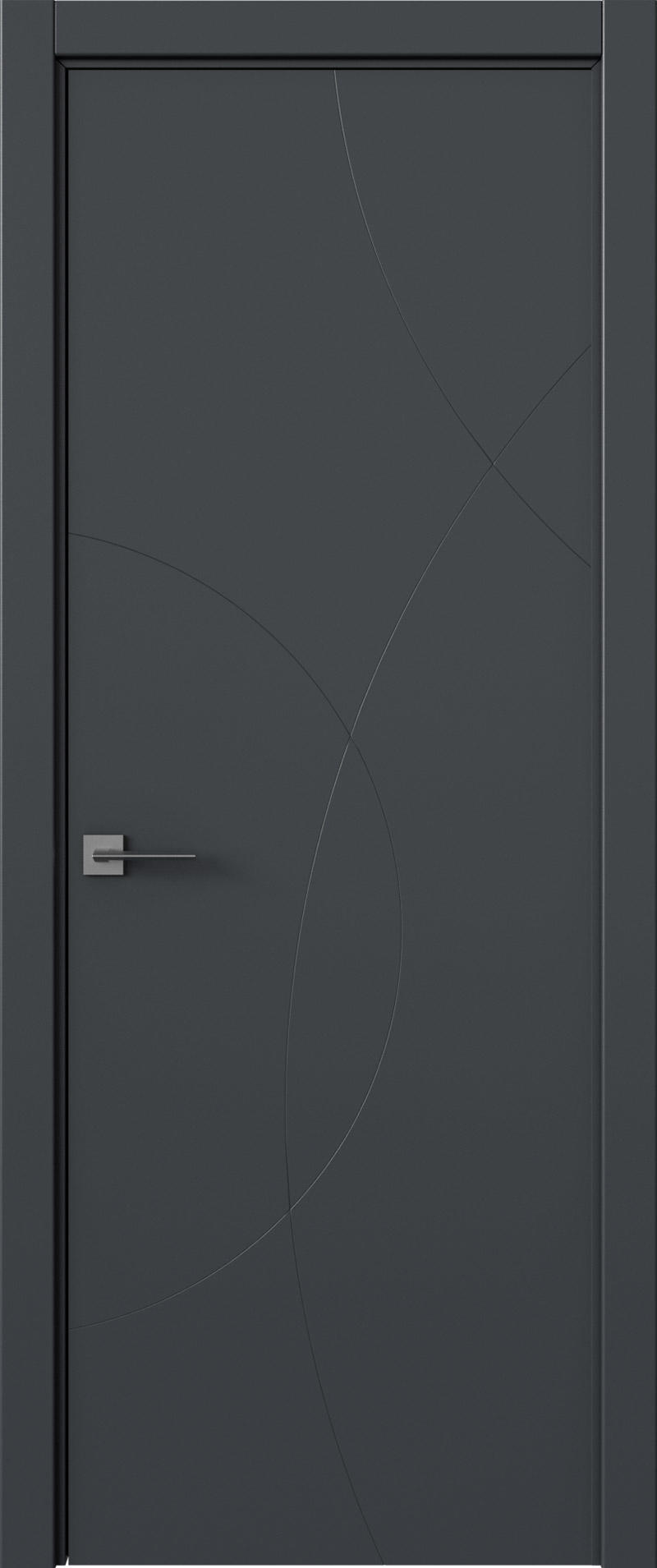 Tivoli Б-5 цвет - Графитово-серая эмаль (RAL 7024) Без стекла (ДГ)