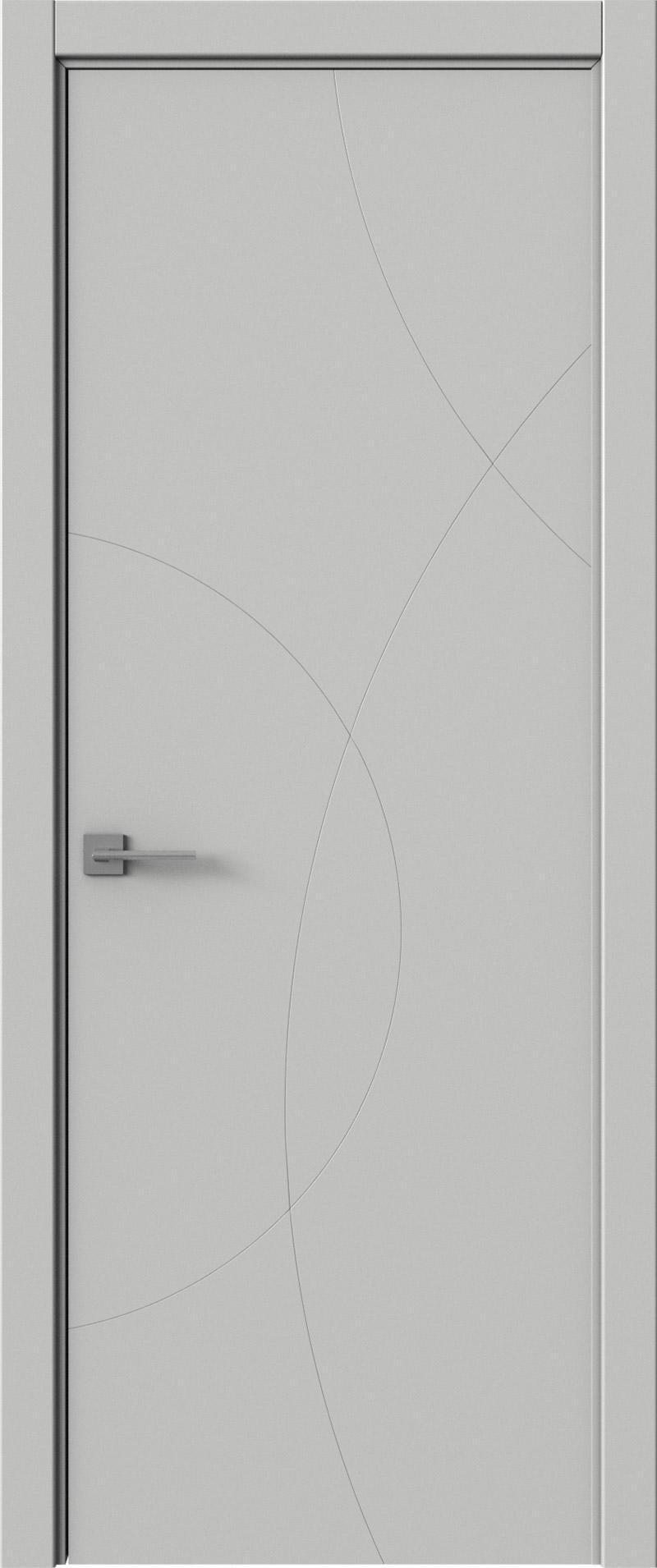 Tivoli Б-5 цвет - Серая эмаль (RAL 7047) Без стекла (ДГ)
