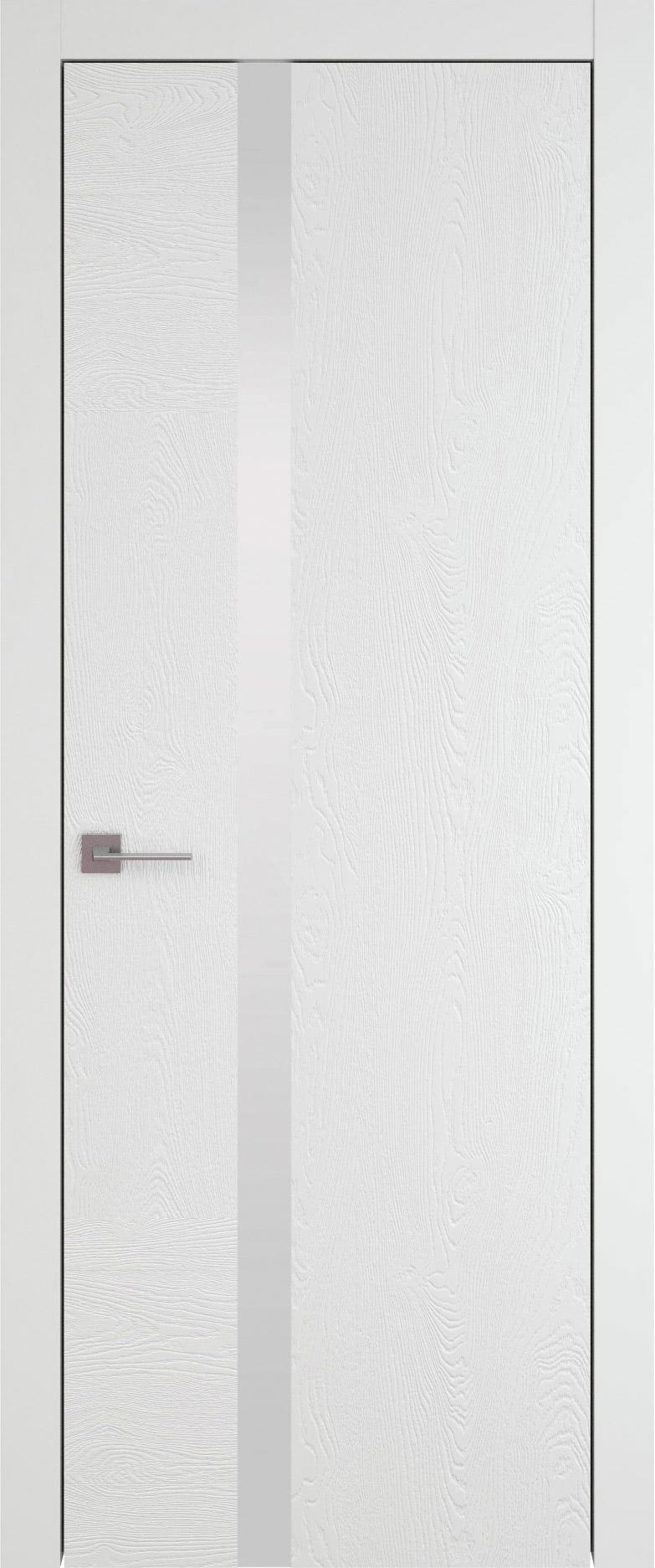 Tivoli Д-1 цвет - Белая эмаль по шпону (RAL 9003) Без стекла (ДГ)