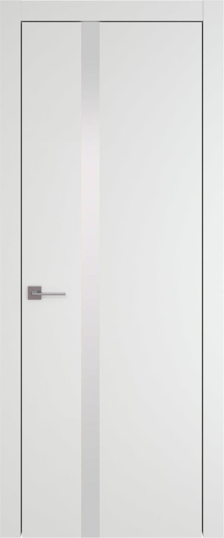 Tivoli Д-1 цвет - Белая эмаль (RAL 9003) Без стекла (ДГ)