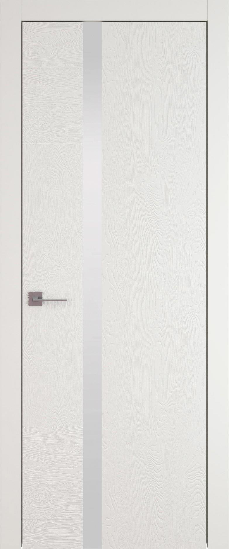 Tivoli Д-1 цвет - Бежевая эмаль по шпону (RAL 9010) Без стекла (ДГ)