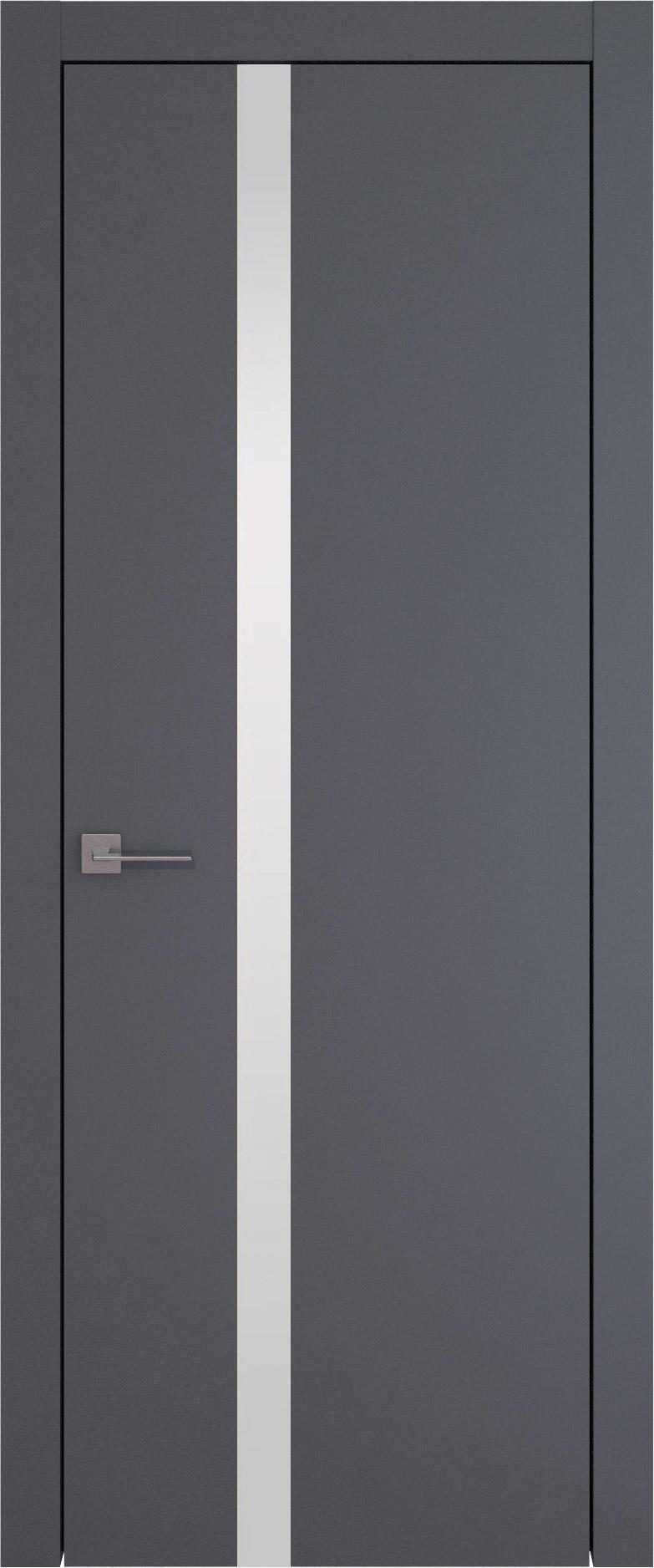 Tivoli Д-1 цвет - Графитово-серая эмаль (RAL 7024) Без стекла (ДГ)
