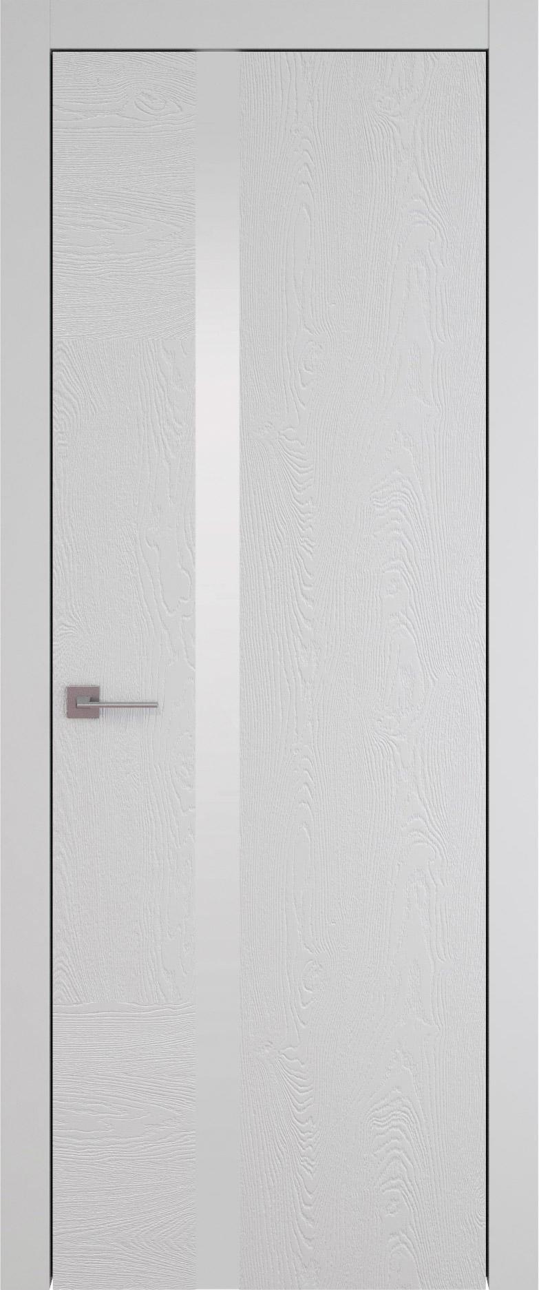 Tivoli Д-1 цвет - Серая эмаль по шпону (RAL 7047) Без стекла (ДГ)