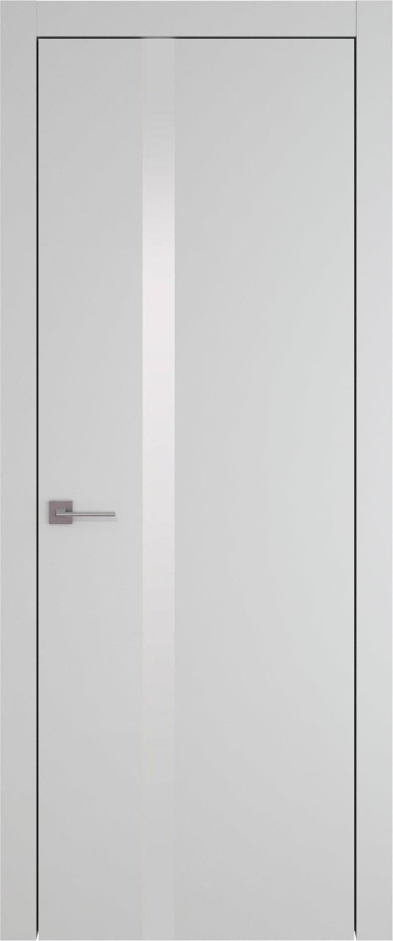 Tivoli Д-1 цвет - Серая эмаль (RAL 7047) Без стекла (ДГ)