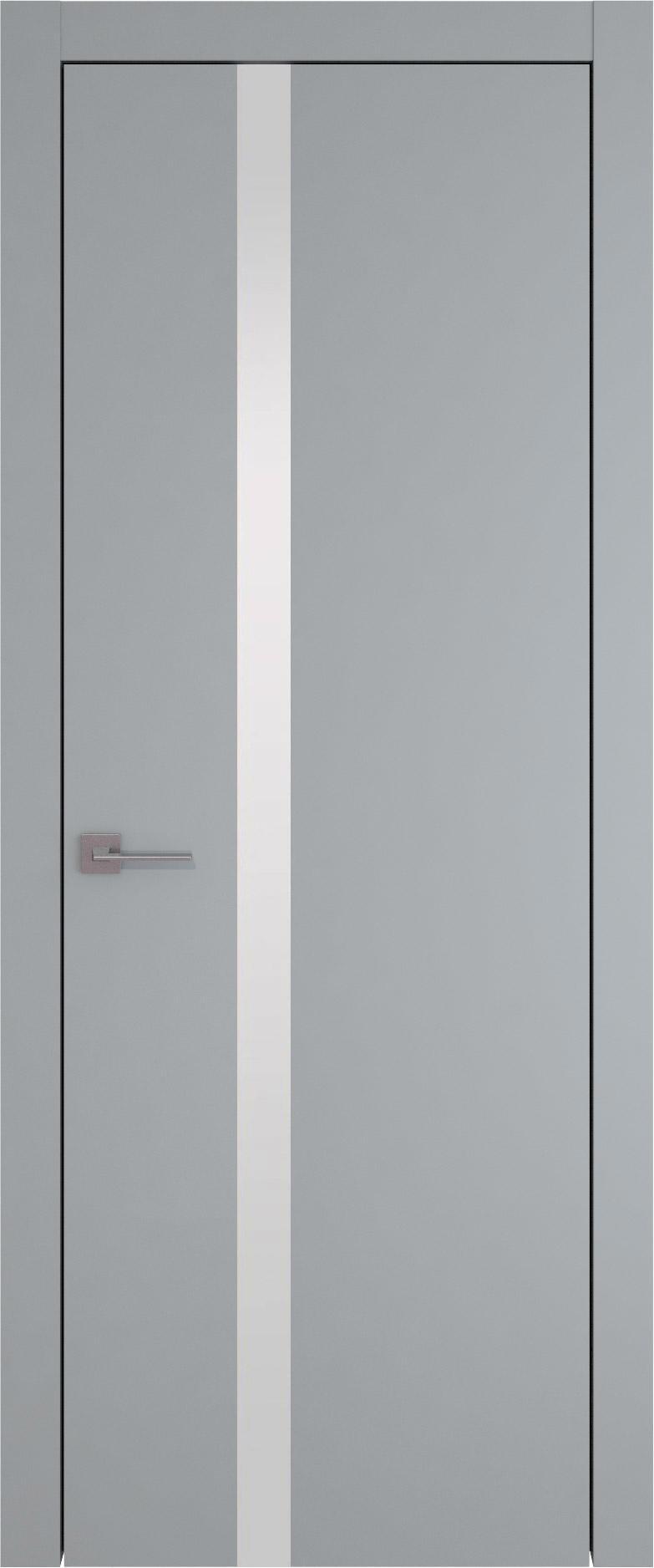 Tivoli Д-1 цвет - Серебристо-серая эмаль (RAL 7045) Без стекла (ДГ)