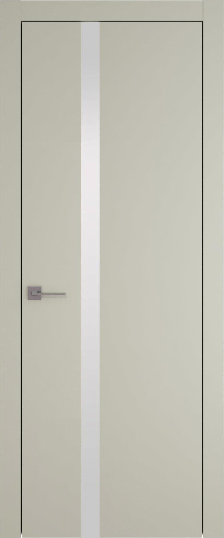 Tivoli Д-1 цвет - Серо-оливковая эмаль (RAL 7032) Без стекла (ДГ)