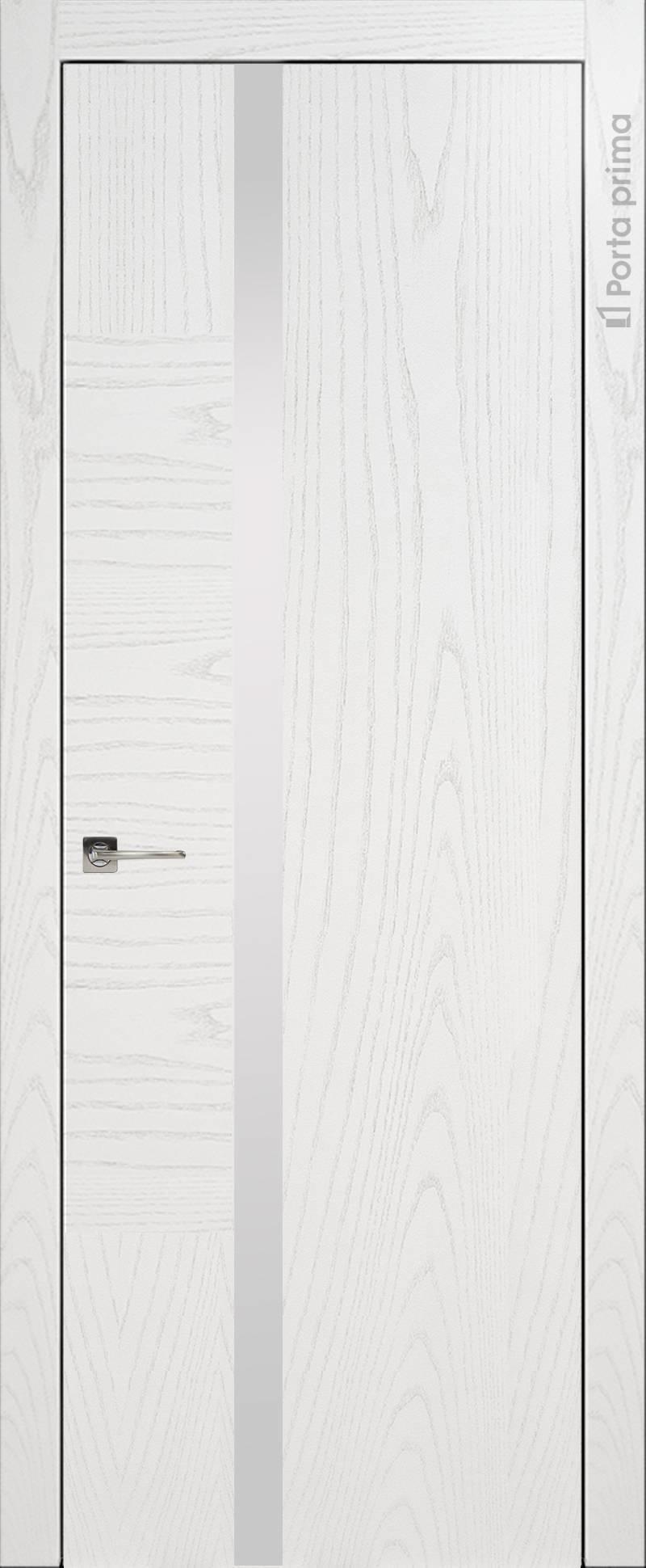 Tivoli Д-1 цвет - Белый ясень (шпон) Без стекла (ДГ)