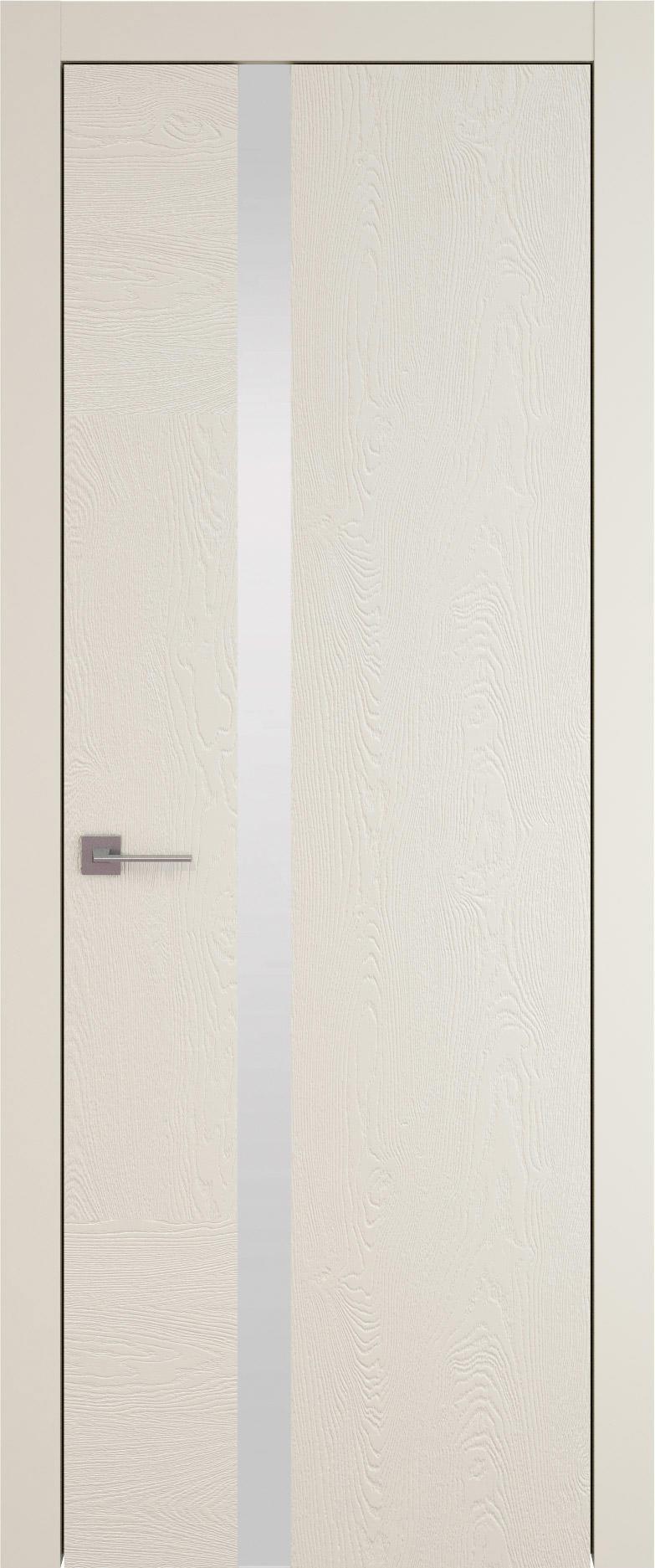 Tivoli Д-1 цвет - Жемчужная эмаль по шпону (RAL 1013) Без стекла (ДГ)