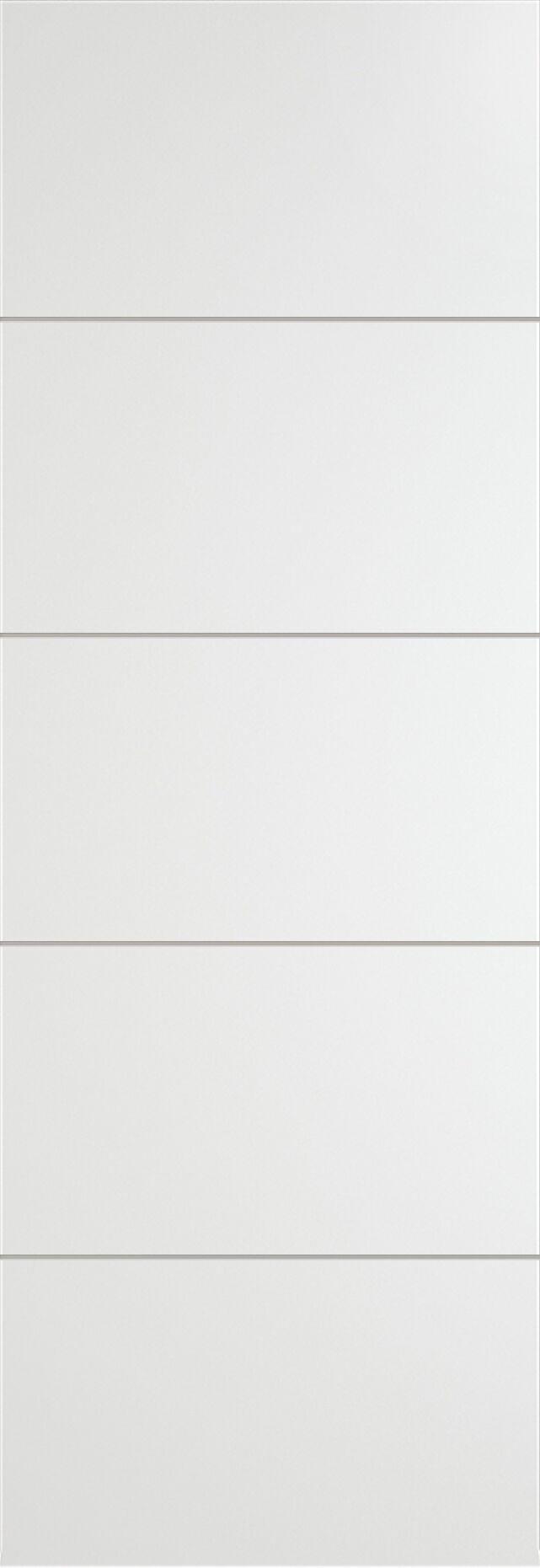 Tivoli Д-2 Invisible цвет - Белая эмаль Без стекла (ДГ)