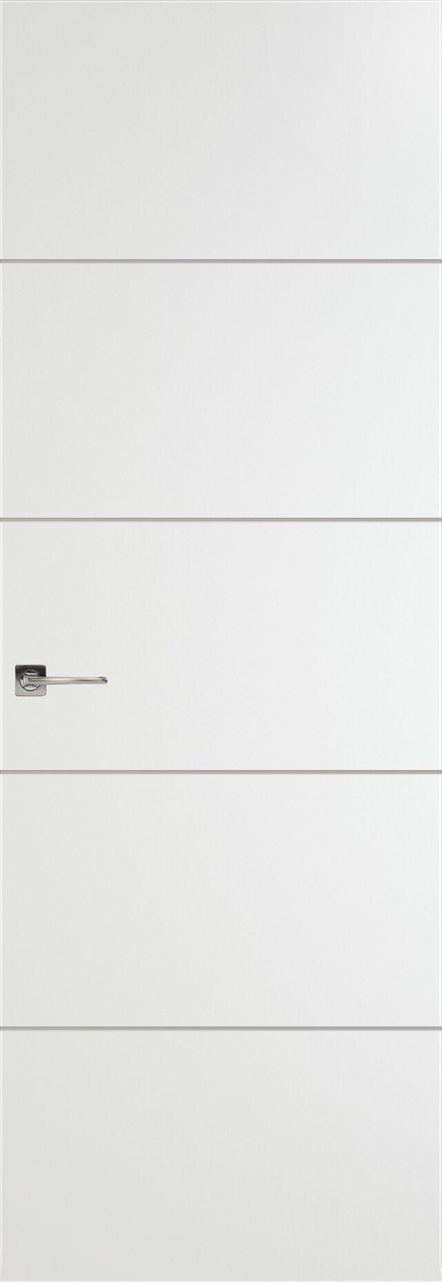 Tivoli Д-2 Невидимка цвет - Белая эмаль Без стекла (ДГ)