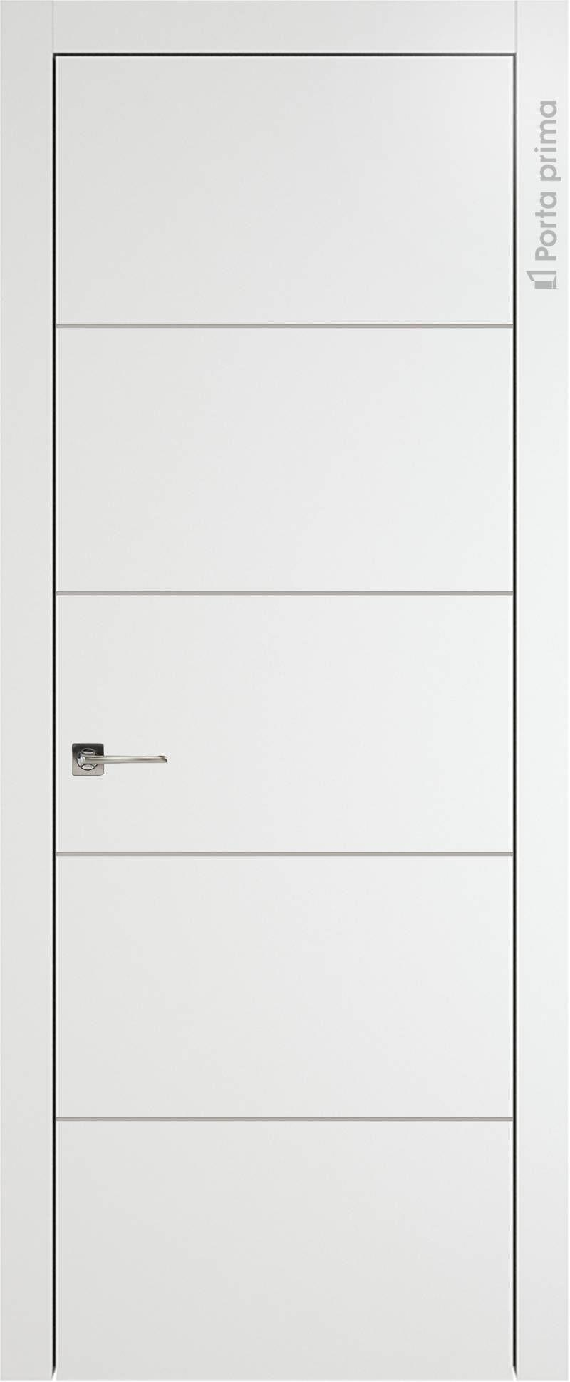 Tivoli Д-2 цвет - Белая эмаль (RAL 9003) Без стекла (ДГ)