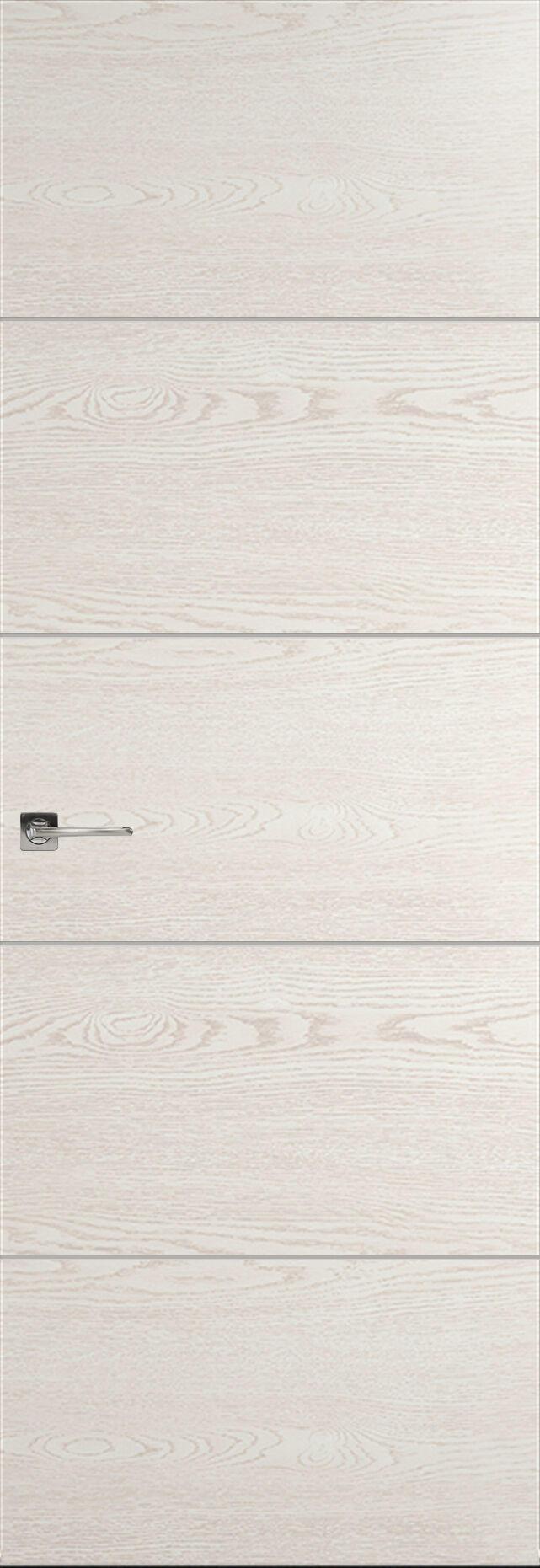 Tivoli Д-2 Невидимка цвет - Белый ясень Без стекла (ДГ)