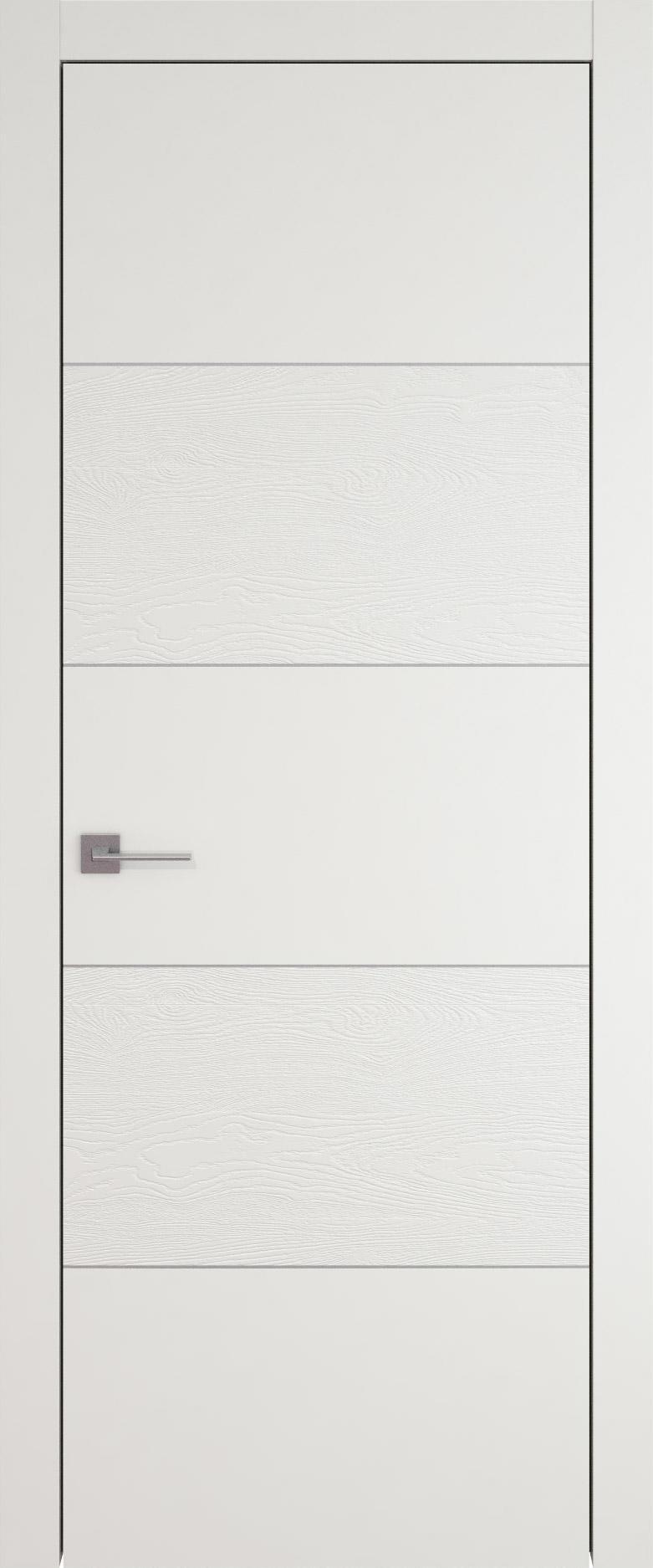 Tivoli Д-2 цвет - Бежевая эмаль-эмаль по шпону (RAL 9010) Без стекла (ДГ)