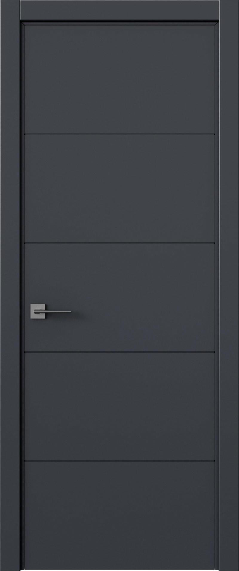 Tivoli Д-2 цвет - Графитово-серая эмаль (RAL 7024) Без стекла (ДГ)