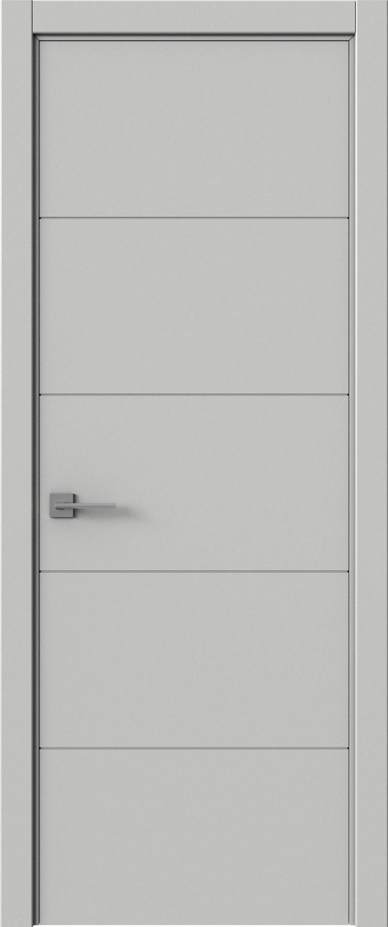 Tivoli Д-2 цвет - Серая эмаль (RAL 7047) Без стекла (ДГ)