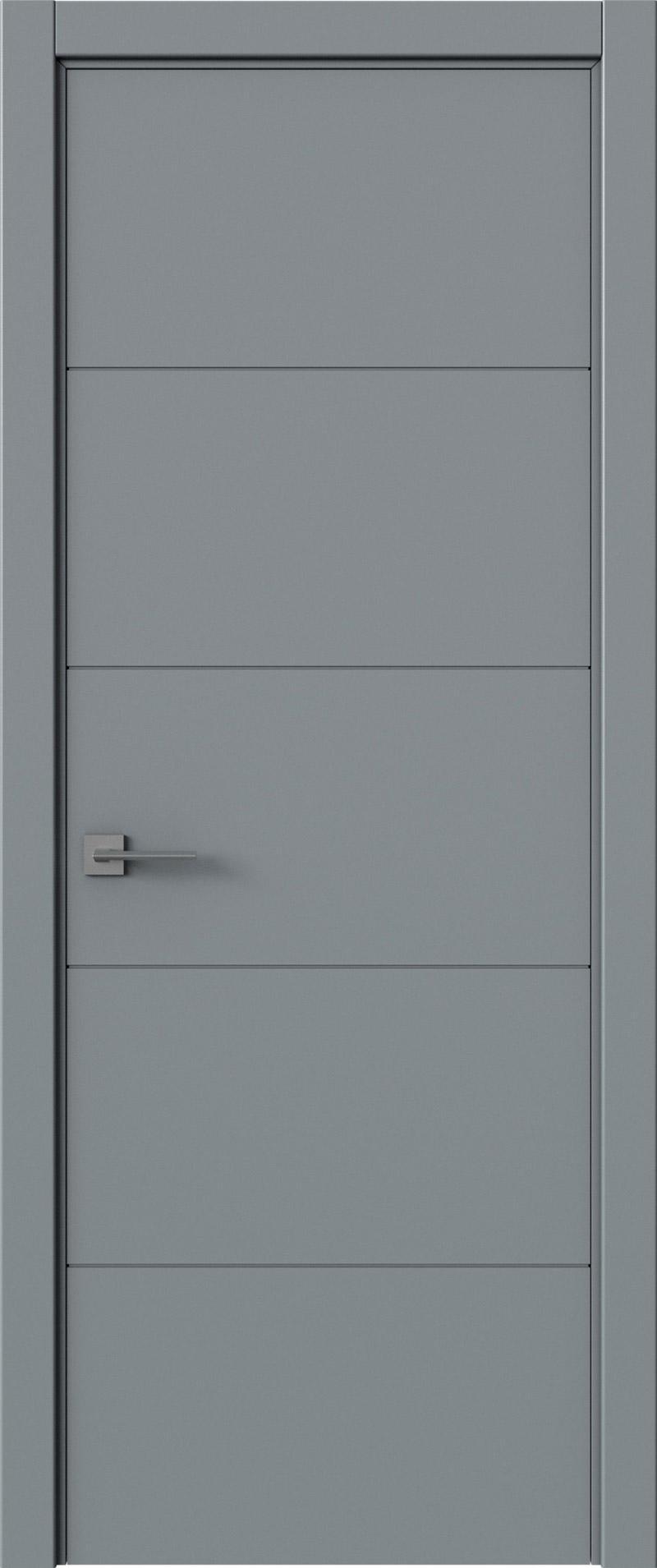 Tivoli Д-2 цвет - Серебристо-серая эмаль (RAL 7045) Без стекла (ДГ)