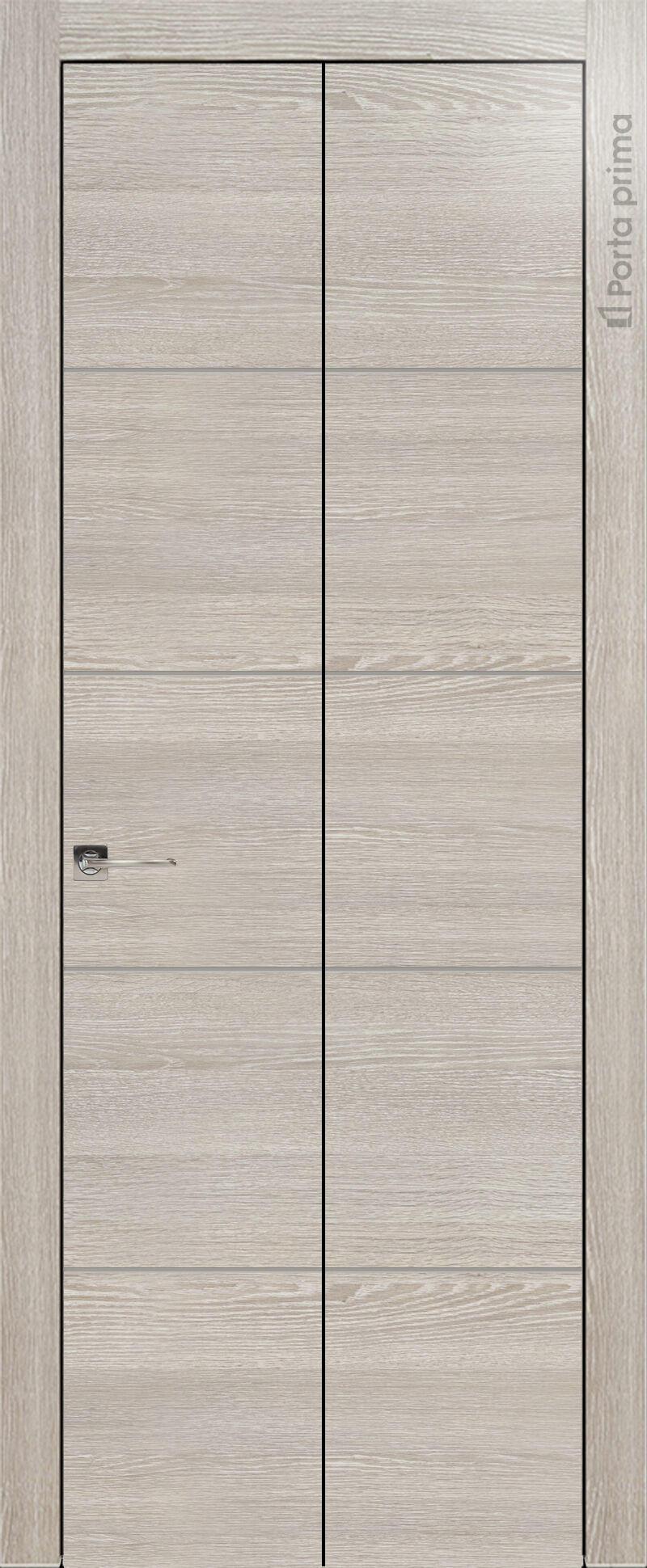 Tivoli Д-2 Книжка цвет - Серый дуб Без стекла (ДГ)
