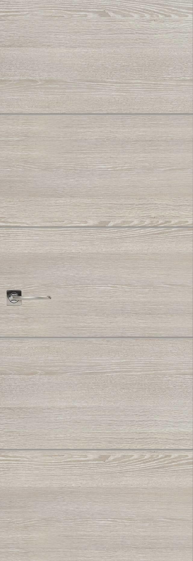 Tivoli Д-2 Невидимка цвет - Серый дуб Без стекла (ДГ)
