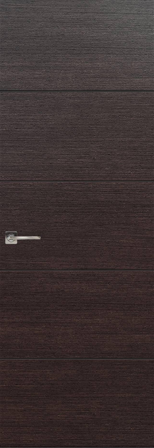 Tivoli Д-2 Невидимка цвет - Венге Шоколад Без стекла (ДГ)