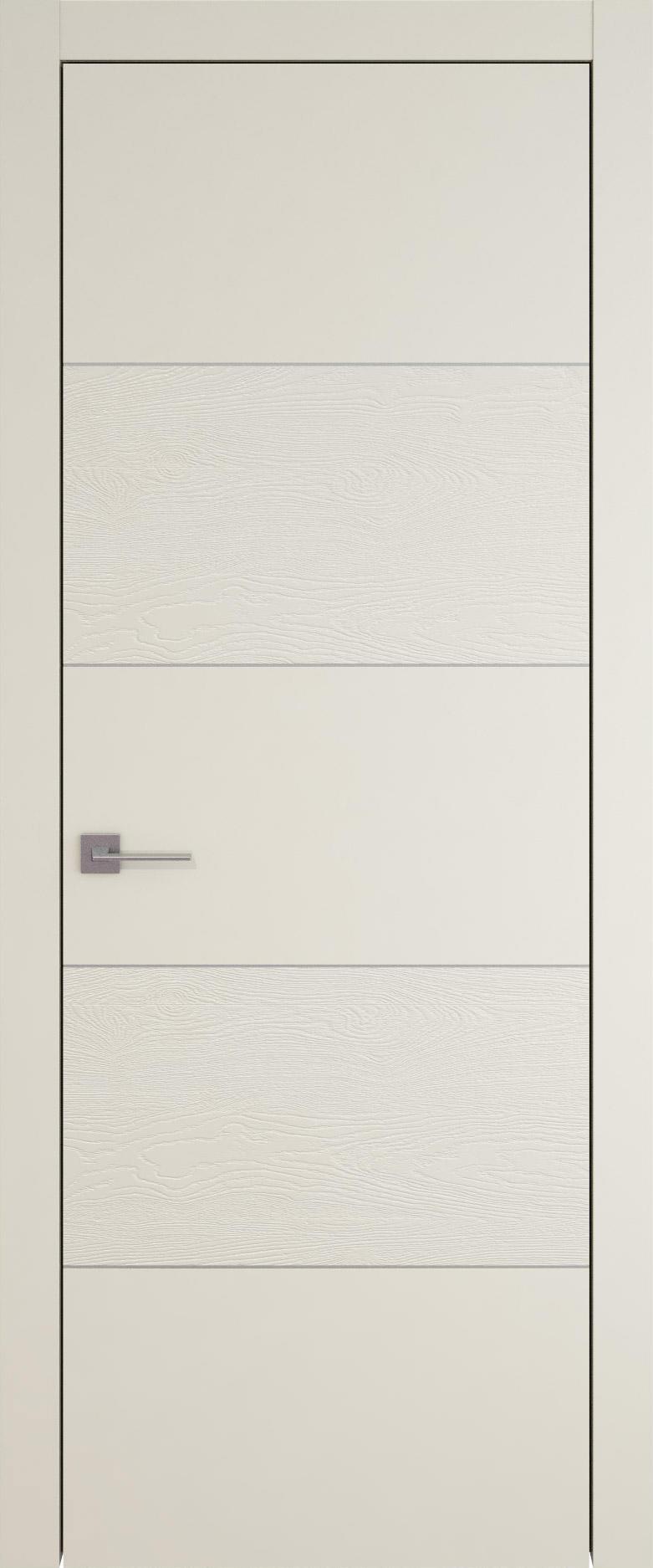 Tivoli Д-2 цвет - Жемчужная эмаль-эмаль по шпону (RAL 1013) Без стекла (ДГ)