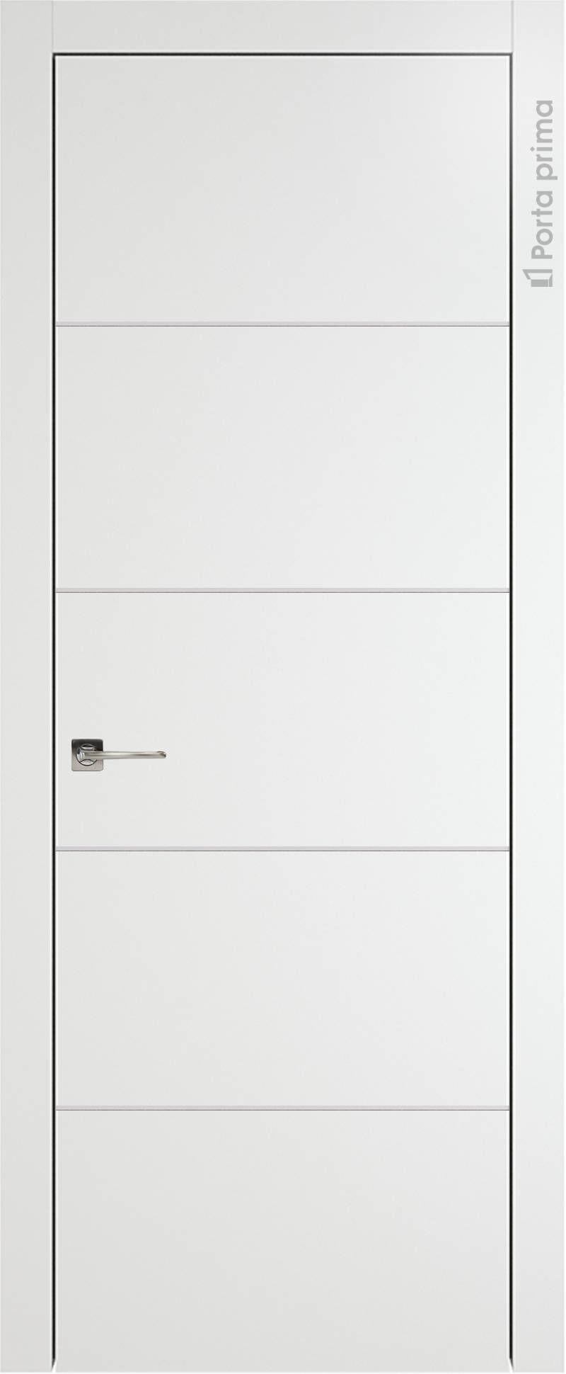 Tivoli Д-3 цвет - Белая эмаль (RAL 9003) Без стекла (ДГ)