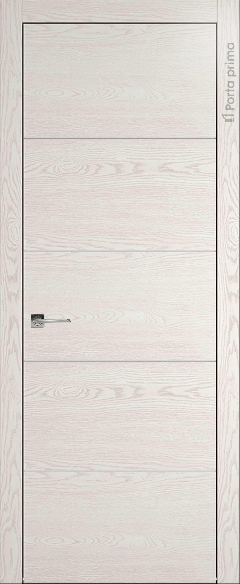 Tivoli Д-3 цвет - Белый ясень (nano-flex) Без стекла (ДГ)