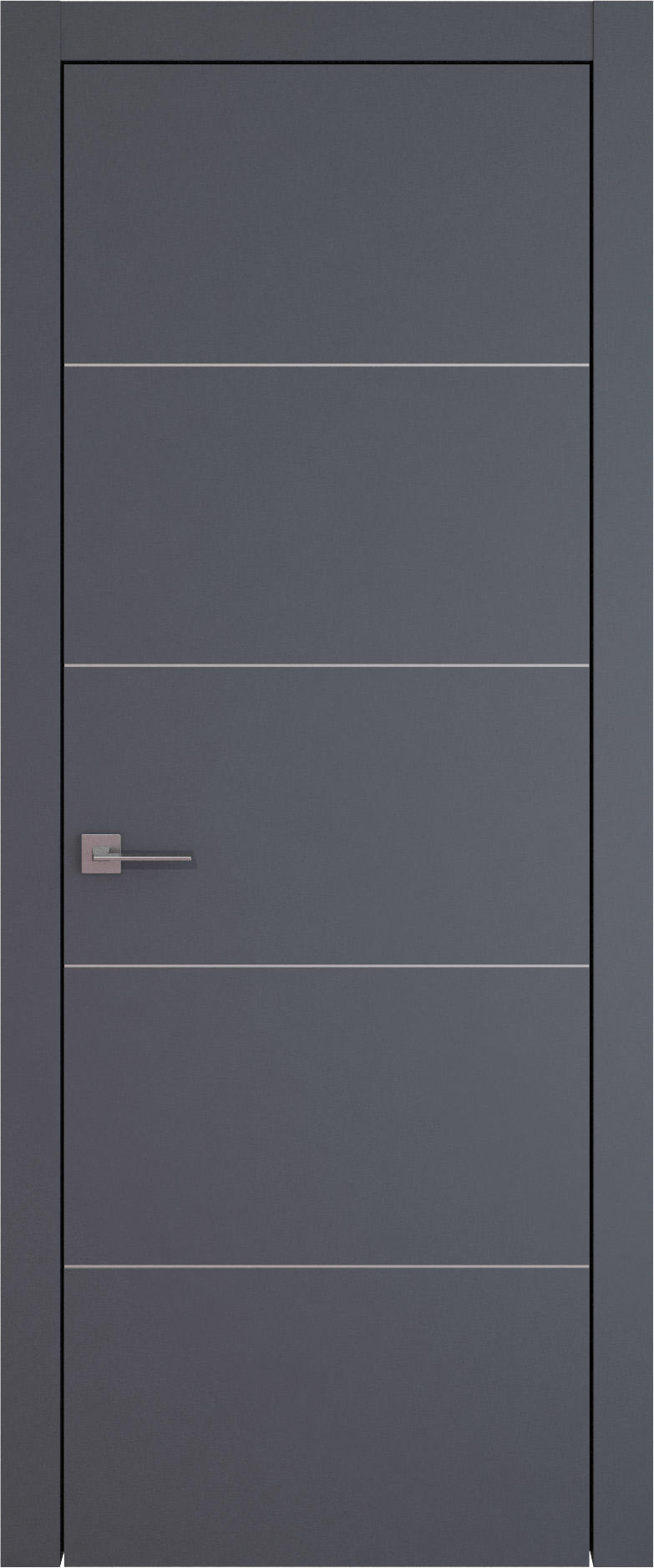 Tivoli Д-3 цвет - Графитово-серая эмаль (RAL 7024) Без стекла (ДГ)