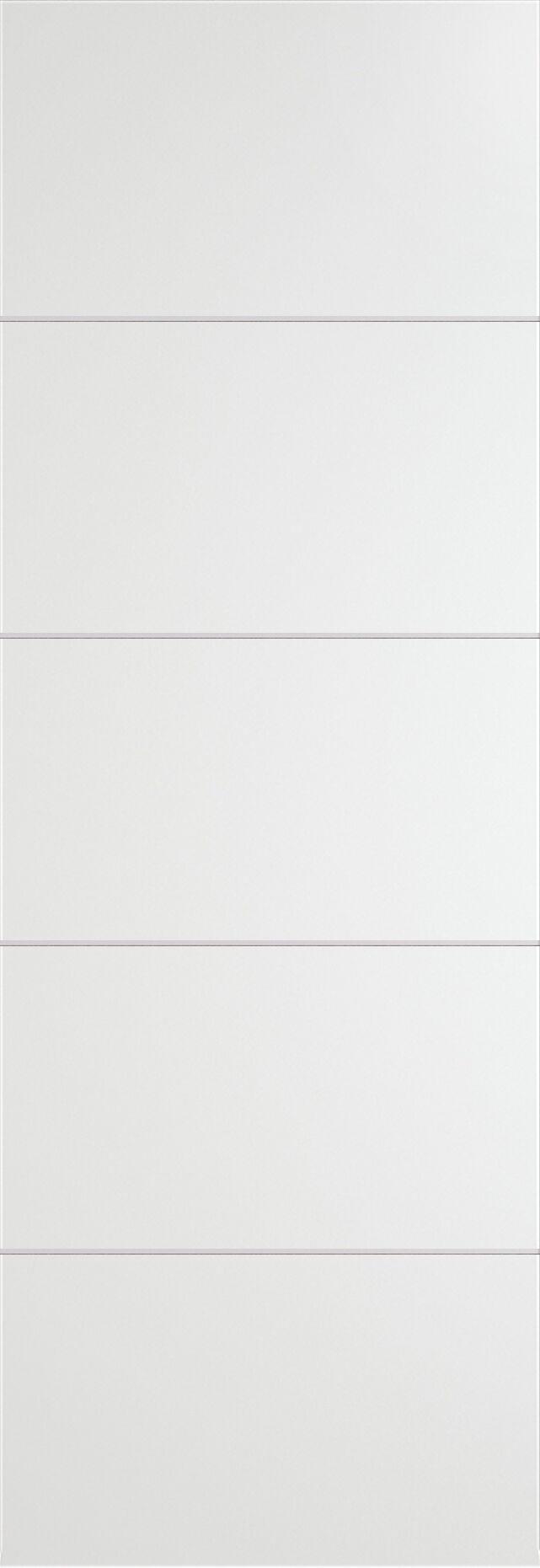 Tivoli Д-3 Invisible цвет - Белая эмаль Без стекла (ДГ)