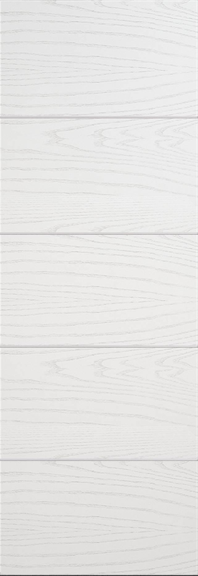 Tivoli Д-3 Invisible цвет - Ясень белая эмаль Без стекла (ДГ)