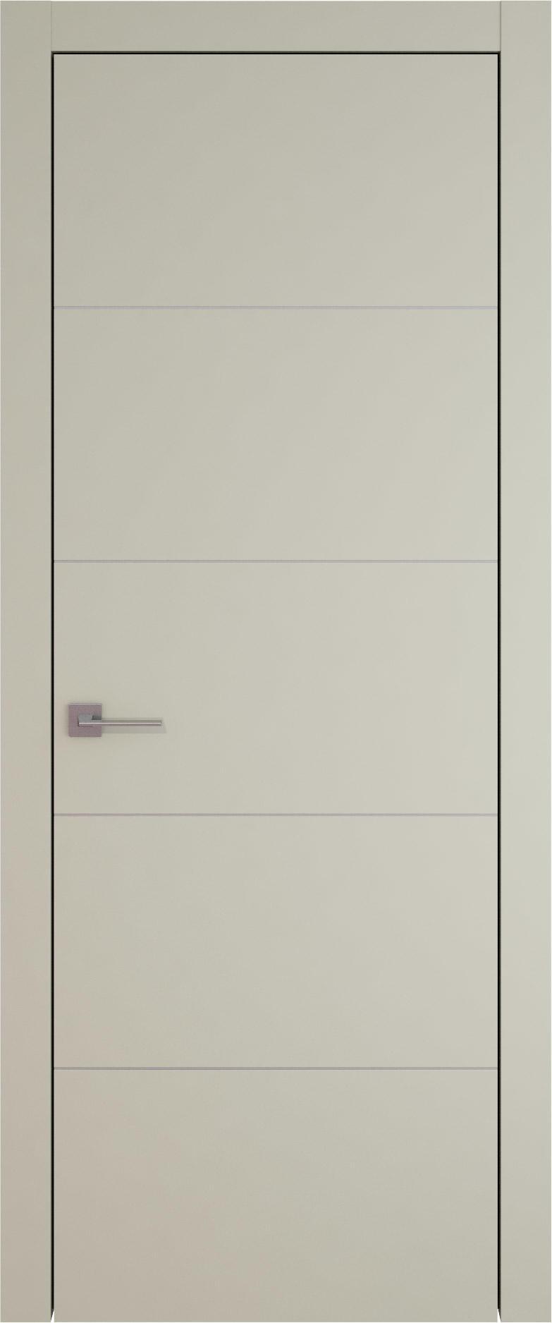 Tivoli Д-3 цвет - Серо-оливковая эмаль (RAL 7032) Без стекла (ДГ)