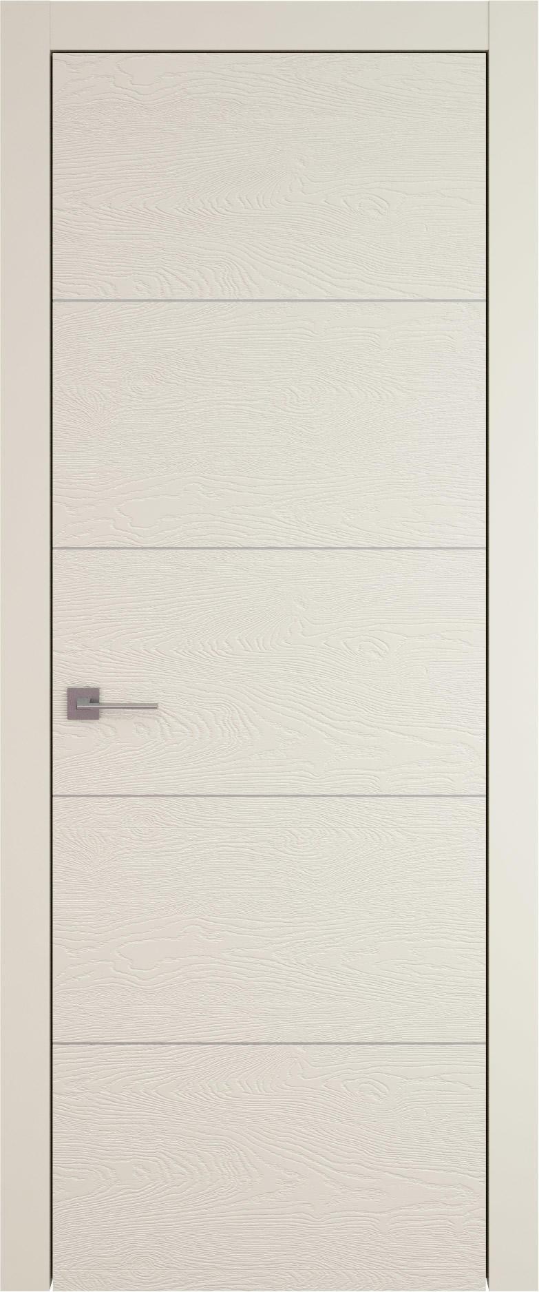 Tivoli Д-3 цвет - Жемчужная эмаль по шпону (RAL 1013) Без стекла (ДГ)