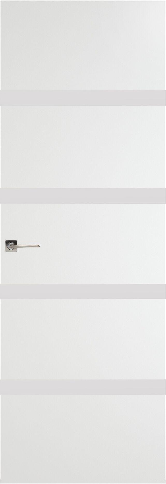 Tivoli Д-4 Невидимка цвет - Белая эмаль Без стекла (ДГ)