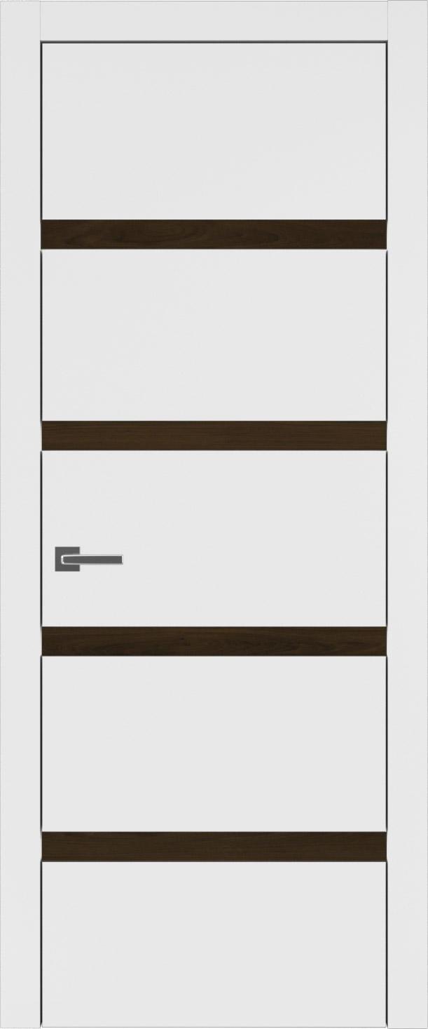 Tivoli Д-4 цвет - Белая эмаль (RAL 9003) Без стекла (ДГ)