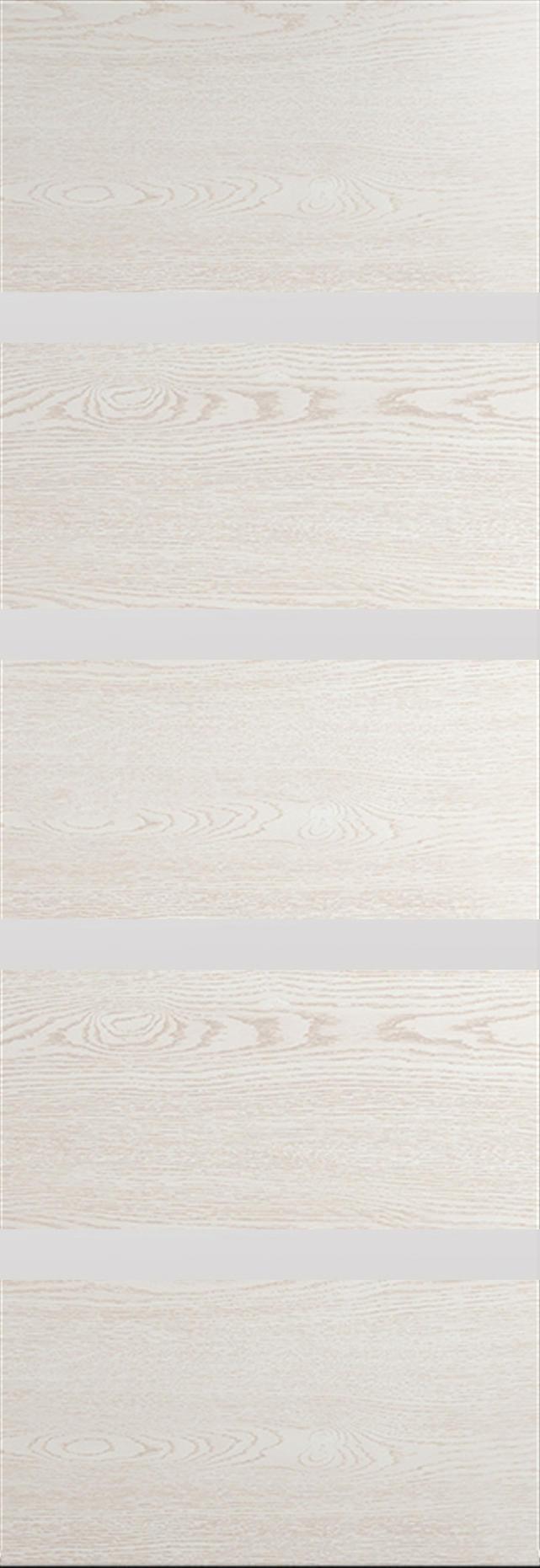 Tivoli Д-4 Invisible цвет - Белый ясень Без стекла (ДГ)